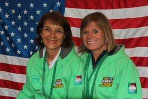 Susan Wright, Diane Fishburne best