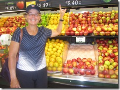"""Carolyn by the """"Smitten"""" apples which are terrific"""