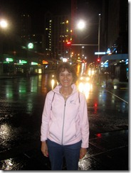 Susan, downtown Auckland, nigh