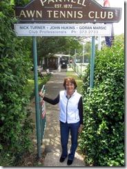Susan under LTC sign