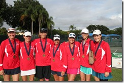 Florida 45s Clinched Third over Texas
