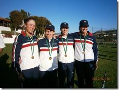 Lenglen Cup team