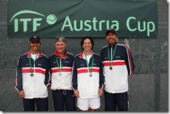 USA Austria Cup team, Castillo, Persons, Waldman, Martinez