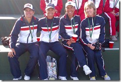 Young Cup with medals