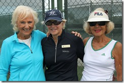 Jane Lutz, Trish Faulkner, TD, Diane Hoffman, W80 Champions