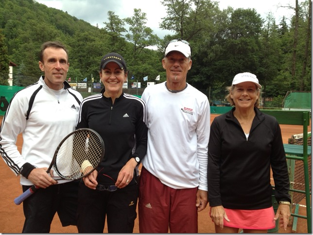 Stuart, Wendy Armstrong, Bruce Barrett, Carolyn