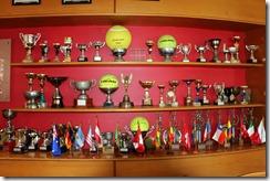 Estadio Espanol trophies