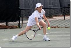 Judith Smith, W 80s...great knee bend