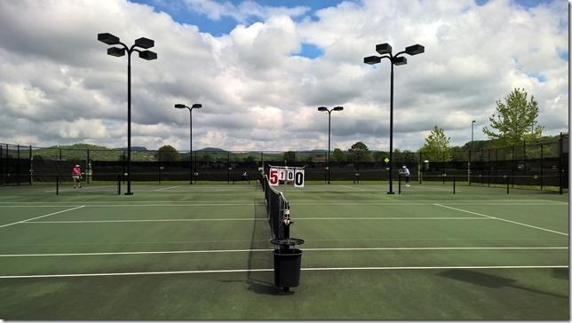 Hard Courts @ Huntsville Tennis Center