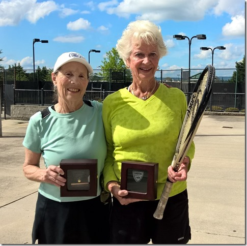 80s Doubles champions, Judith Smith and Burnett Herrick