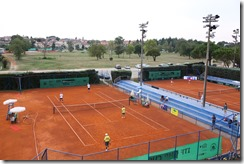 courts from stadium