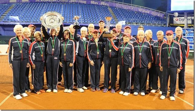 US teams Medalling in Croatia